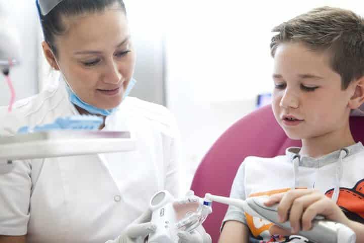 met je kind naar de tandarts